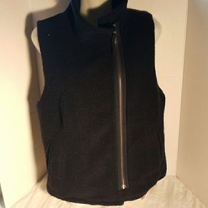 J. Crew Wool Vest Zip Up Small
